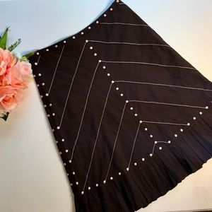 Odille Skirt with Pleats